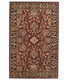 RugStudio presents Capel Piedmont-Fereghan 43923 Red Garnet Hand-Tufted, Good Quality Area Rug