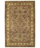 RugStudio presents Capel Piedmont-Keshan 43932 Beige/Amber Hand-Tufted, Good Quality Area Rug