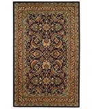 RugStudio presents Capel Piedmont-Keshan 43933 Expresso Hand-Tufted, Good Quality Area Rug