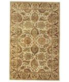 RugStudio presents Capel Piedmont-Isfahan 43930 Ivory Hand-Tufted, Good Quality Area Rug