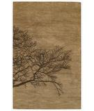 RugStudio presents Capel Desert Plateau-Shadow Branch 43671 Tree Bark Hand-Tufted, Good Quality Area Rug