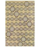 RugStudio presents Capel Morgan Hill-Florali 43888 Amber Hand-Tufted, Best Quality Area Rug