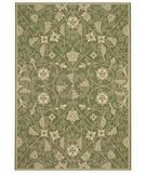 RugStudio presents Capel Elsinore-Garden Maze 43683 Fern Green Machine Woven, Good Quality Area Rug