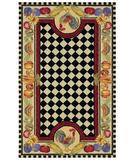 RugStudio presents Capel The Dell 44059 Multitone Hand-Hooked Area Rug