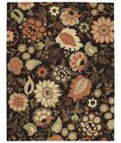 RugStudio presents Capel Gaston-Bouquet 43750 Earthtones Machine Woven, Better Quality Area Rug