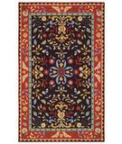 RugStudio presents Capel Amish Country 43545 Brown Hand-Hooked Area Rug