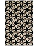 RugStudio presents Capel Charlotte 43634 Black Hand-Hooked Area Rug