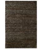 RugStudio presents Capel Cypress-Brocade 6503 Dark Brown 775 Hand-Knotted, Good Quality Area Rug