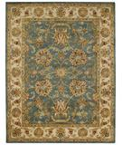 RugStudio presents Capel Guilded 43776 Sapphire Hand-Tufted, Best Quality Area Rug