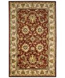RugStudio presents Capel Guilded 43777 Red Hand-Tufted, Best Quality Area Rug