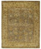 RugStudio presents Capel Orinda-Sultanabad 43920 Grey Hand-Tufted, Good Quality Area Rug
