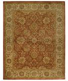 RugStudio presents Capel Orinda-Ushak 43921 Persimmon Hand-Tufted, Good Quality Area Rug