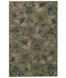 RugStudio presents Capel Brock Haven-Bluebells 43620 Charcoal Hand-Tufted, Good Quality Area Rug