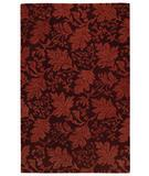 RugStudio presents Capel Berkeley 43578 Wine Hand-Tufted, Good Quality Area Rug