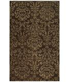 RugStudio presents Capel Lace 43818 Brown Hand-Tufted, Good Quality Area Rug