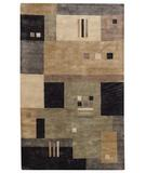 RugStudio presents Capel Left Bank 43824 Onyx Multi Hand-Tufted, Good Quality Area Rug