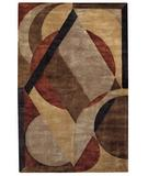RugStudio presents Capel Left Bank 43826 Sandy Beach Multi Hand-Tufted, Good Quality Area Rug