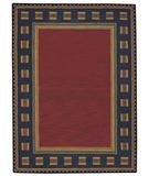 RugStudio presents Capel Castle Rock 43628 Poppy Hand-Tufted, Good Quality Area Rug
