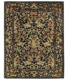 RugStudio presents Capel Garden Farms 43741 Black Hand-Tufted, Good Quality Area Rug