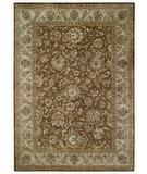 RugStudio presents Capel Forest Park-Peshawar 43733 Chocalate Brwon Hand-Tufted, Best Quality Area Rug
