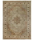 RugStudio presents Capel Forest Park-Tabric 43737 Brown Hand-Tufted, Best Quality Area Rug