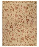 RugStudio presents Capel Queensway II 43959 Pale Green Hand-Knotted, Best Quality Area Rug