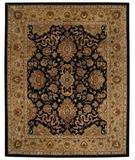 RugStudio presents Capel Forest Park-Mahal 43724 Onyx Hand-Tufted, Best Quality Area Rug