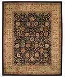 RugStudio presents Capel Forest Park-Persian Cedars 43729 Onyx Hand-Tufted, Best Quality Area Rug