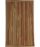 RugStudio presents Capel Manchester 67081 Sage Red Hues Braided Area Rug
