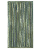 RugStudio presents Capel Manchester 108314 Green Fields Braided Area Rug