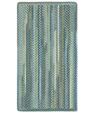 RugStudio presents Capel Manchester 108315 Light Blue Braided Area Rug