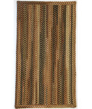 RugStudio presents Capel Manchester 67078 Brown Hues Braided Area Rug