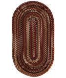 RugStudio presents Capel Bangor 67026 Cinnamon Braided Area Rug