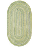 RugStudio presents Capel Iridescence 67066 Green Braided Area Rug