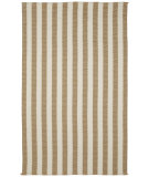 RugStudio presents Capel Morrow Mountain 67096 Beige Stripe Braided Area Rug