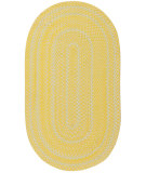 RugStudio presents Capel River Bend 108334 Yellow Braided Area Rug
