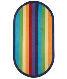 RugStudio presents Capel Sweet Treats 67143 Multi Braided Area Rug
