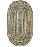 RugStudio presents Capel Inlet 108227 Beige Braided Area Rug