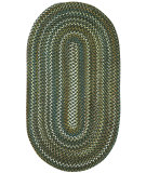 RugStudio presents Capel Inlet 108229 Green Braided Area Rug