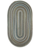 RugStudio presents Capel Inlet 108231 Smoke Braided Area Rug