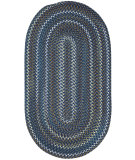 RugStudio presents Capel Inlet 108228 Blue Braided Area Rug