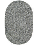 RugStudio presents Capel Sea Pottery 67117 Smoke Braided Area Rug