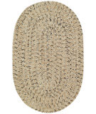 RugStudio presents Capel Sea Pottery 67116 Sandy Beach Braided Area Rug