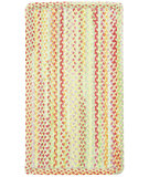 RugStudio presents Capel High Tea 108226 Yellow Braided Area Rug