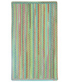 RugStudio presents Capel Migration 108323 Green Braided Area Rug
