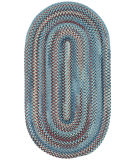 RugStudio presents Capel Kill Devil Hill 67069 Blue Braided Area Rug
