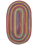 RugStudio presents Capel Kill Devil Hill 67070 Bright Multi Braided Area Rug