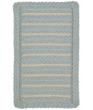 RugStudio presents Capel Boathouse 108191 Blue Braided Area Rug