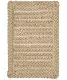 RugStudio presents Capel Boathouse 108190 Beige Braided Area Rug