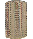 RugStudio presents Capel Briar Wood 108199 Dark Beige Braided Area Rug